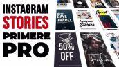 دانلود پروژه آماده پریمیر : تایم لاین اینستاگرام motionarray Instagram Stories V.1