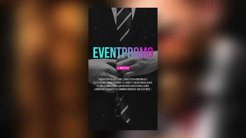 دانلود پروژه آماده پریمیر  تیتراژ motionarray Instagram Event Opener Premiere Pro Templates