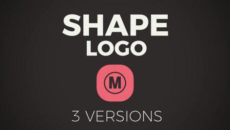 دانلود پروژه آماده پریمیر : تیتراژ motionarray Shape Logo Premiere Pro Templates
