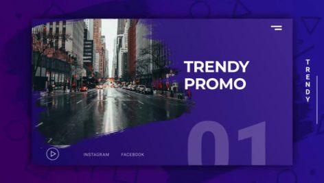 دانلود پروژه آماده پریمیر : تیتراژ motionarray Trendy Active Promo Premiere Pro Templates