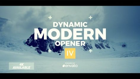 دانلود پروژه آماده افترافکت : تیتراژ حرفه ای فیلم videohive Dynamic Opener