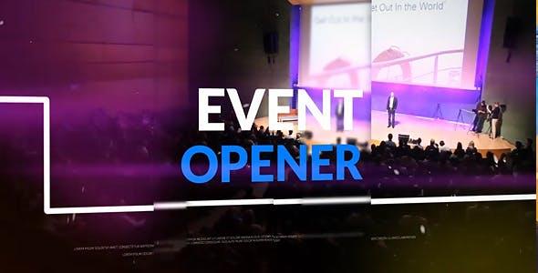دانلود پروژه آماده افترافکت : تیتراژ فیلم زیبای videohive Event Opener