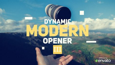 دانلود پروژه آماده افترافکت : تیتراژ فیلم videohive Modern Opener