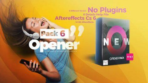 دانلود پروژه آماده افترافکت : پکیج حرفه ای تیتراژ فیلم Opener Pack