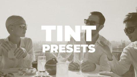 دانلود پریست رنگی آماده پریمیر : motionarray Tint Presets premiere pro