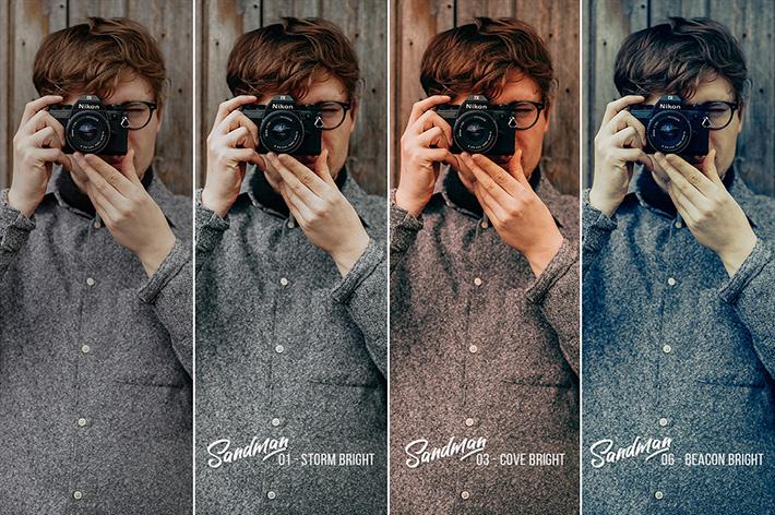 دانلود 20 پریست سینمایی لایت روم و Camera Raw فتوشاپ : Sandman 20 Cinematic Presets