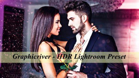 دانلود پریست لایت روم حرفه ای : Graphicriver HDR Lightroom Preset