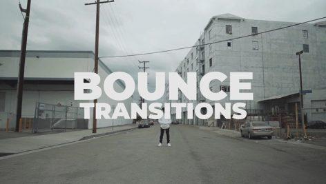 دانلود پکیج ترنزیشن حرفه ای و زیبای پریمیر : Bounce Transitions Transitions Premiere Pro