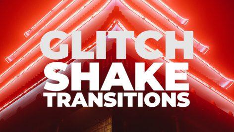 دانلود پکیج ترنزیشن پریمیر motionarray Glitch Shake Transitions Premiere Pro