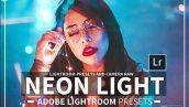 دانلود 15 پریست سینمایی لایت روم و Camera Raw فتوشاپ : Neon Light Lightroom & ACR