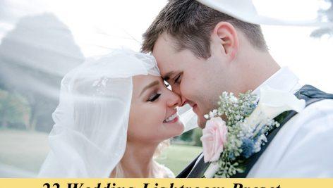 دانلود ۲۲ پریست لایت روم : Graphicriver 22 Wedding Lightroom Preset