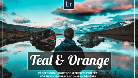 دانلود 30 پریست رنگی لایت روم حرفه ای : Orange and teal Lightroom Presets