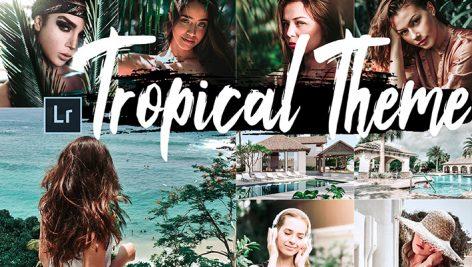 دانلود 5 پریست لایت روم دسکتاپ : Neo Tropical Theme Desktop Lightroom Presets
