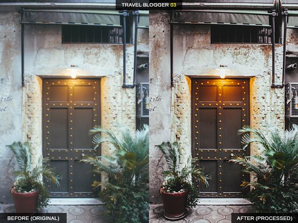 دانلود 12 پریست لایت روم جهانگردی : Travel Blogger Lightroom Presets