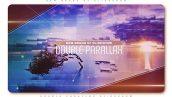 دانلود پروژه آماده افترافکت با موزیک اسلایدشو Double Parallax Slideshow