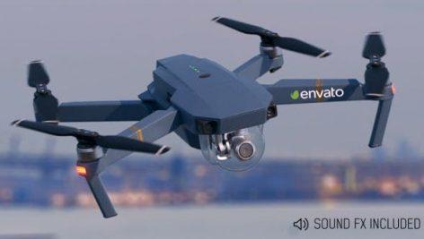 دانلود پروژه آماده افترافکت با موزیک تبلیغات هلی شات Small Drone (1)