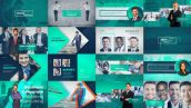 دانلود پروژه آماده افترافکت با موزیک : معرفی شرکت Corporate Business