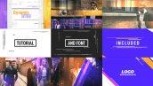 دانلود پروژه آماده افترافکت با موزیک پروژه تیتراژ فیلم Dynamic Intro