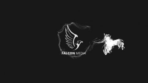 دانلود پروژه آماده افترافکت : نمایش لوگو Dark Elegant Logo