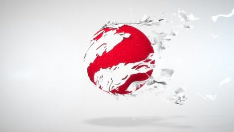 دانلود پروژه آماده افترافکت نمایش لوگو Tearing Sphere Logo Reveal