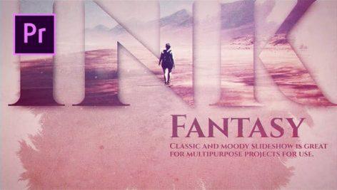 دانلود پروژه آماده پریمیر با آهنگ : اسلایدشو Ink Fantasy Premiere Pro Templates