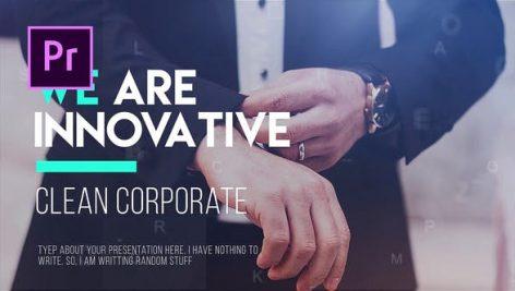 دانلود پروژه آماده پریمیر با موزیک : معرفی شرکت Corporate Timeline