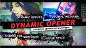دانلود پروژه افترافکت با موزیک : تیتراژ فیلم Dynamic Opener