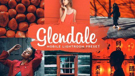 دانلود پریست آماده لایت روم موبایل : Glendale Mobile Lightroom Preset