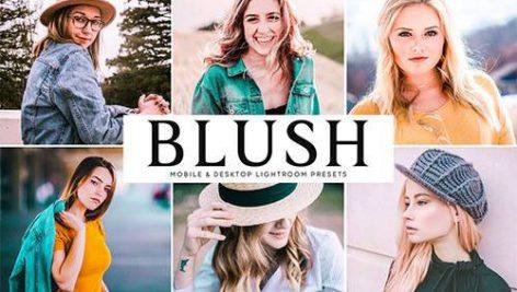 دانلود پریست لایت روم موبایل و دسکتاپ و Camera Raw فتوشاپ : Blush