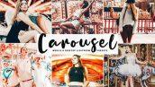 دانلود پریست لایت روم موبایل و دسکتاپ و Camera Raw فتوشاپ : Carousel