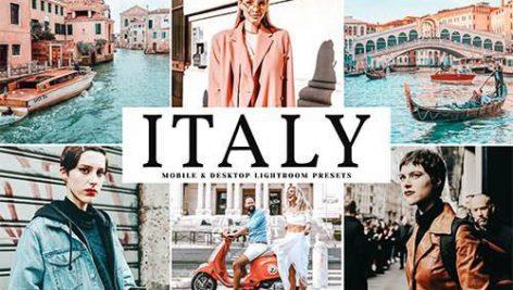 دانلود پریست لایت روم موبایل و دسکتاپ و Camera Raw فتوشاپ : Italy