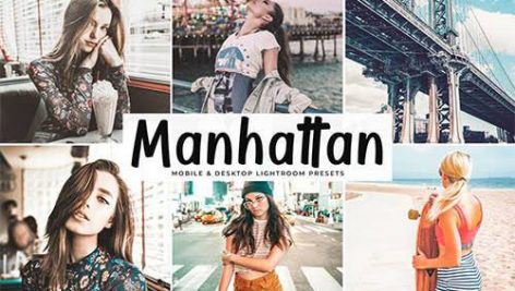دانلود پریست لایت روم موبایل و دسکتاپ و Camera Raw فتوشاپ : Manhattan