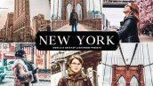 دانلود پریست لایت روم موبایل و دسکتاپ و Camera Raw فتوشاپ : New York