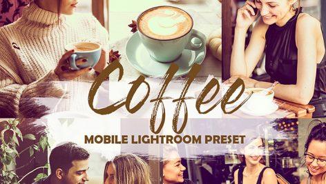 دانلود پریست لایت روم موبایل : Lightroom Preset Mobile Coffee Instagram