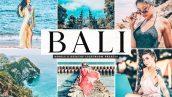 دانلود 11 پریست لایت روم موبایل و دسکتاپ : Bali Lightroom Presets Collection