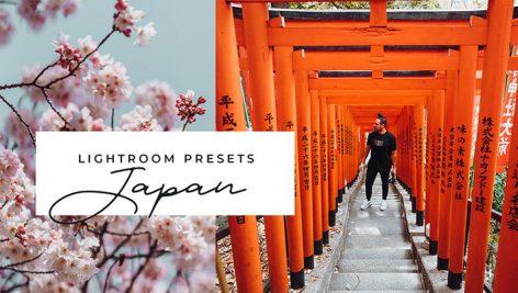 دانلود 11 پریست لایت روم موبایل و دسکتاپ : Japan Mobile & Desktop Lightroom Presets