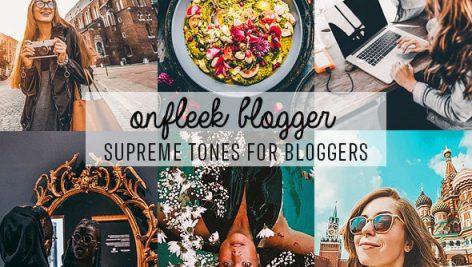 دانلود 16 پریست لایت روم موبایل و دسکتاپ و Camera Raw فتوشاپ : ONFleek Bloggers