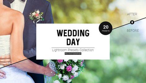 دانلود 20 پریست لایتروم مخصوص عروسی : Wedding Day LR Presets