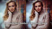 دانلود مجموعه پریست لایت روم : رتوش چهره Beauty Skin Retouch Lightroom Presets