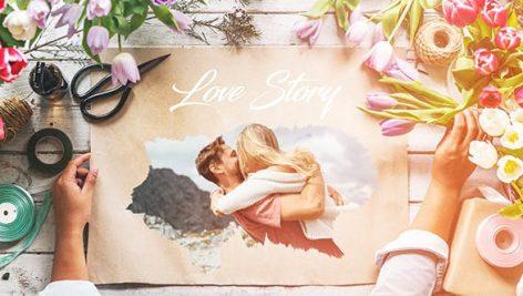 دانلود پروژه آماده افترافکت با موزیک : اسلایدشو عروسی Love Story