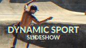 دانلود پروژه آماده افترافکت با موزیک : اسلایدشو و تیتراژ Dynamic Sport Slideshow
