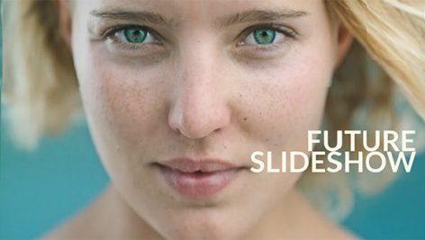 دانلود پروژه آماده افترافکت با موزیک : اسلایدشو و تیتراژ Future Slideshow