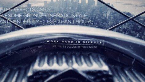 دانلود پروژه آماده افترافکت با موزیک اسلایدشو Mysterious Grunge Cinematic Trailer
