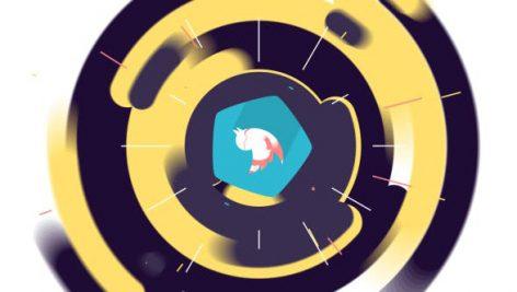 دانلود پروژه آماده افترافکت با موزیک لوگو Flat Colorful Logo Animation