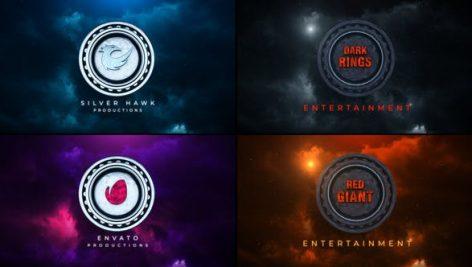 دانلود پروژه آماده افترافکت با موزیک : Cinematic 3D Logo Title Opener