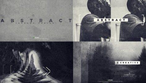 دانلود پروژه آماده افترافکت با موزیک : اسلایدشو Abstract videohive