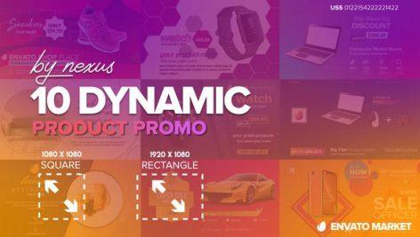 دانلود پروژه آماده افترافکت با موزیک : معرفی و تبلیغ محصولات Dynamic Product Promo