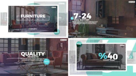 دانلود پروژه آماده افترافکت با موزیک : تیزر تبلیغاتی Furniture Style Promo
