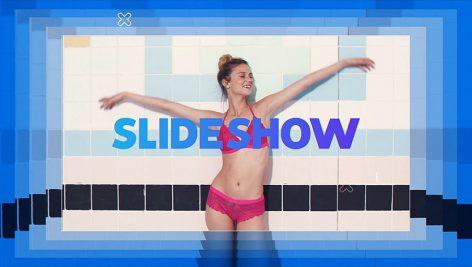 دانلود پروژه آماده پریمیر با موزیک : اسلایدشو Stylish Color Slideshow