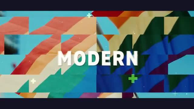 دانلود پروژه آماده پریمیر  اسلایدشو عکس و فیلم  Modern Promo